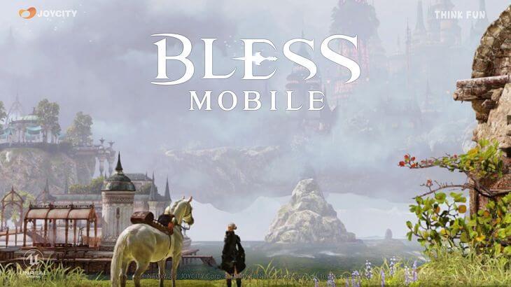 【BLESS MOBILE(ブレスモバイル)】評価&レビュー|広大な世界を駆ける本格MMORPG